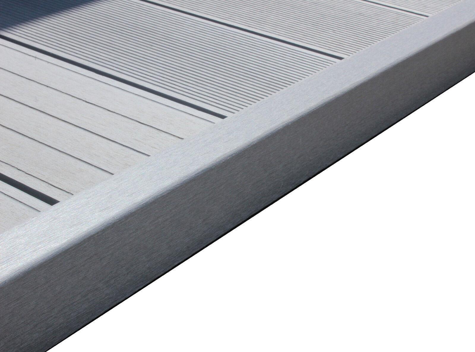 wpc terrassendielen abschlussleiste abdeckleiste l leiste steingrau 1950x62x37mm eur 8 90. Black Bedroom Furniture Sets. Home Design Ideas