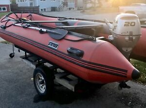 Inflatable boat,14' long
