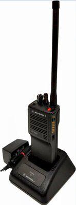 Motorola Ht1000 Vhf 136-174 Mhz 16ch Two Way Walkie Talkie Radio H01kdc9aa3bn
