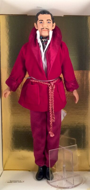 "Gone with the Wind 12"" Movie Star Clark Gable Rhett Butler Red Smoking Jacket"