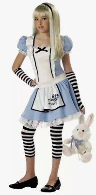 California Costumes Girls Tween Alice Costume, Blue/White, Large L 10-12