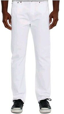 Men's Levis 501 BIG AND Far-fetched size 44 x 32  Button Fly white Jeans