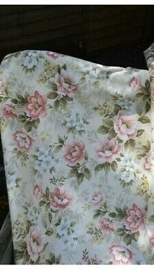 "Vintage 1960's Pretty Rose Floral Curtains - 'Prestbury' - W - 45"" - L - 53"""