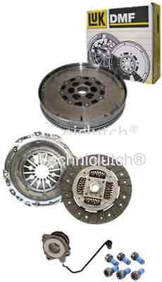 VAUXHALL ASTRA 150 & 16V 1.9 CDTI M32 CLUTCH KIT, LUK DMF FLYWHEEL, CSC, BOLTS
