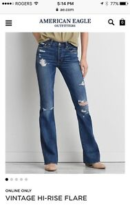 Women's AE Size 16 Jeans