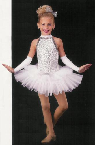 Christmas Child Small White Angel Ballet Tutu Dance Costume