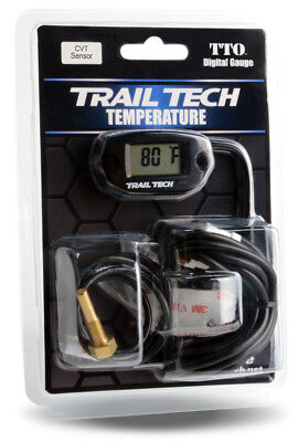 Trail Tech TTO CVT Clutch Belt Temperature Temp Gauge Meter ATV UTV Snowmobile