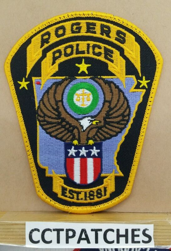 ROGERS, MISSOURI POLICE SHOULDER PATCH MO