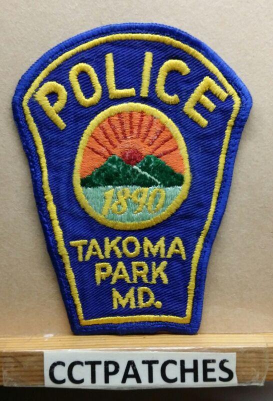 TAKOMA PARK, MARYLAND POLICE SHOULDER PATCH MD
