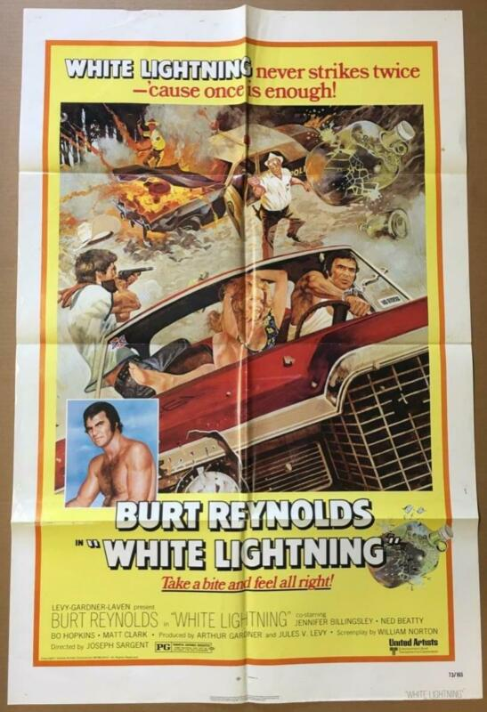 moonshine bootlegger Burt Reynolds Billingsley White Lightning movie poster 2744