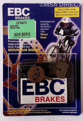 Avid BB5 (Mecánico Sistema) EBC Resina Bicicleta de Montaña Pastillas Frenos
