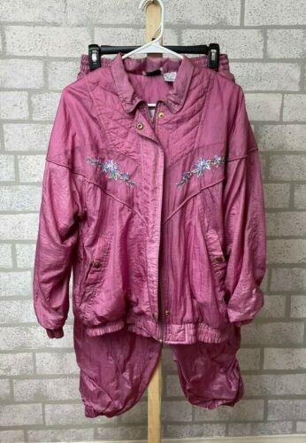 Bold Spirit vintage wind track suit - mauve women