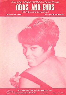 loneliness remembers what happiness forgets dionne warwick piano vocal sheet music