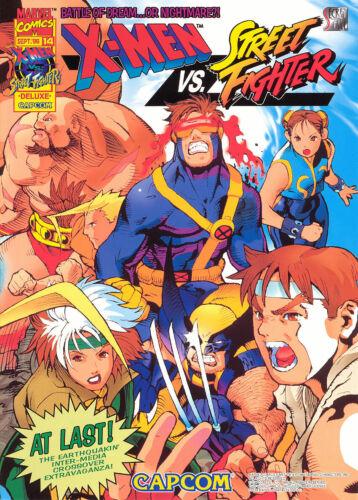 1996 CAPCOM SECRET FILE #14: X-Men Vs. Street Fighter