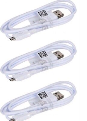 3 Pack OEM Micro USB Cable 3FT Fast Charger for Samsung Galaxy...