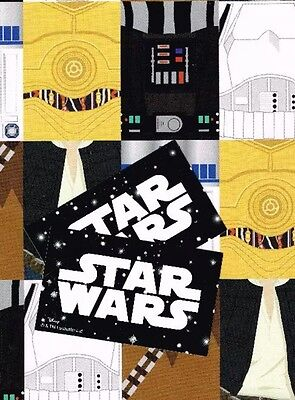 STAR WARS 2 SHEETS OF GIFT WRAP AND 2 GIFT TAGS GIFT 11519086