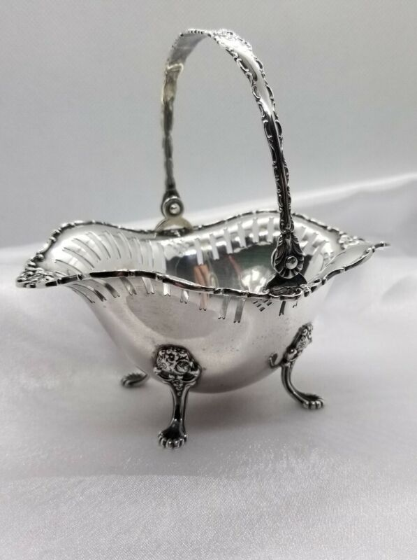 Towle Sterling Silver Footed Basket