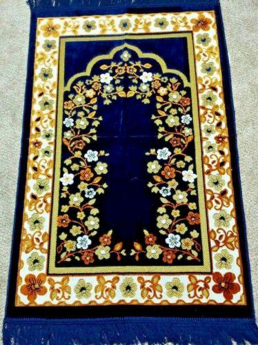 Muslim Prayer Mat, Islamic Prayer Rug Turkish Prayer rug High Quality-as picture