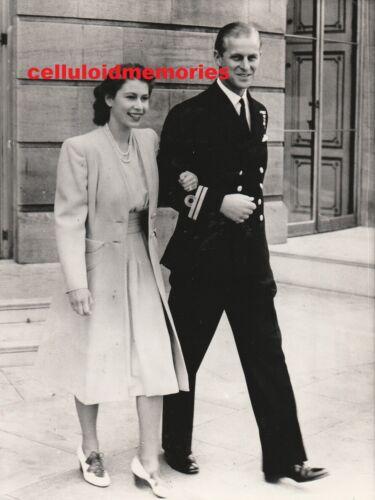 Press Photo Queen Elizabeth II Prince Philip 11-20-87 40th Anniversary Engaged