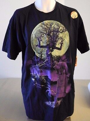 Glow In The Dark Halloween Shirts (REST IN PIECES Graveyard GLOW IN THE DARK Halloween TEE Men's 2XL NEW)