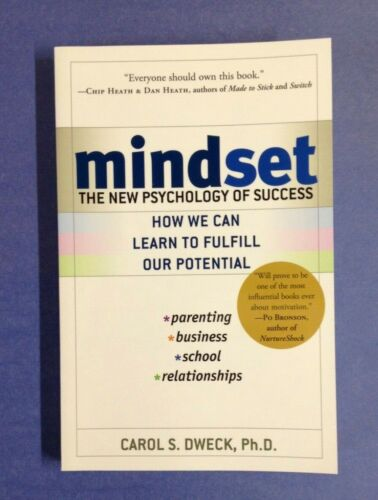 Mindset : The New Psychology of Success by Carol S. Dweck (2007, Paperback)-NEW