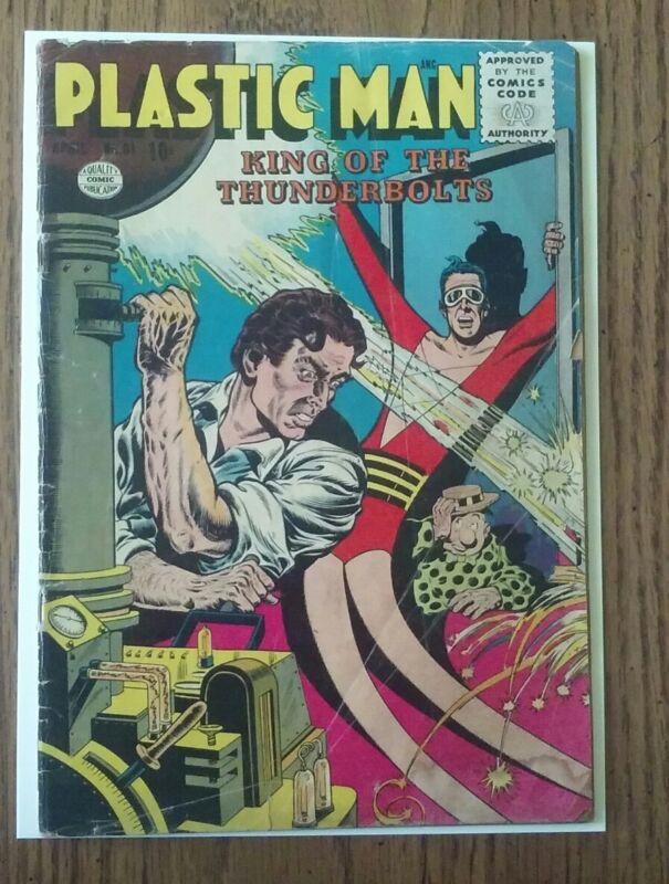 Plastic Man #61 (1956)