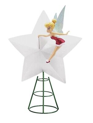 Disney Tinker Bell Light-Up Holiday Tree Topper 2020 Christmas Collection