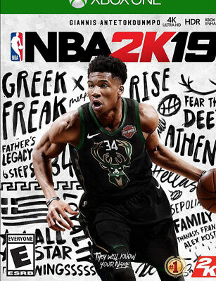 Xbox One NBA 2K19 - Standard Edition Digital Download Card!