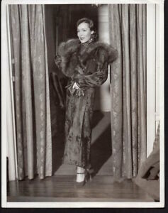 9563f0bbd DOLORES DEL RIO Mexican actress 1934 VINTAGE ORIG PRESS PHOTO 8x10