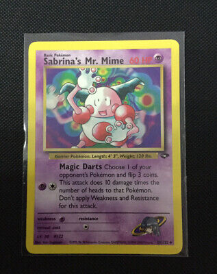 Sabrina's Mr. Mime-Gym Challenge 59/132-Non Comune-Pokemon ENG
