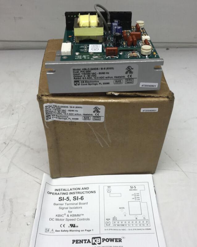 KB Electronics DC motor control KBLC-240DS (5303) P/N 4491