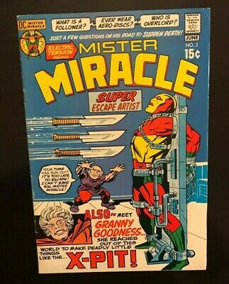 DC Mister Miracle #2 Super Escape Artist 1st Appearance Granny Goodness 1971