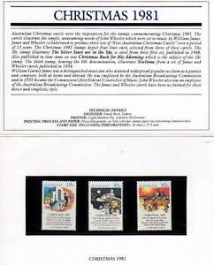Australian Stamp Pack 1981 Christmas MUH Coffin Bay Lower Eyre Peninsula Preview