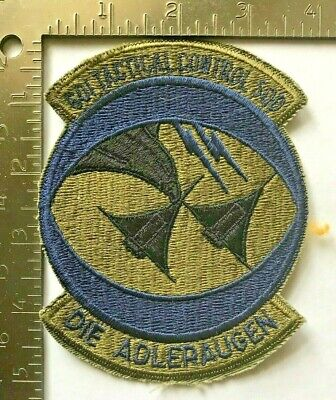 - USAF 601st TACTICAL CONTROL SQUADRON PATCH (AFK-1)
