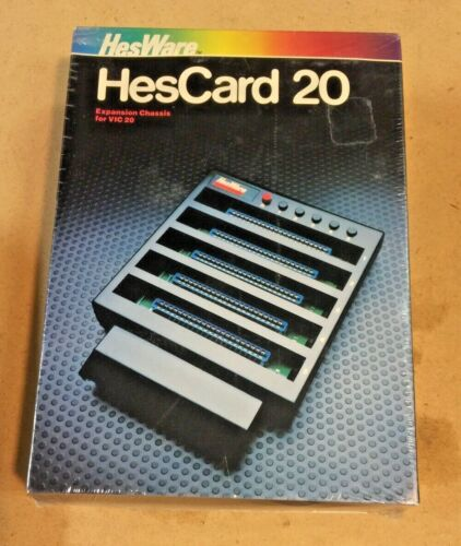 HesCard 20 Expansion Chassis For Vic 20 Computer, Plus 3 Books For Vic Computers