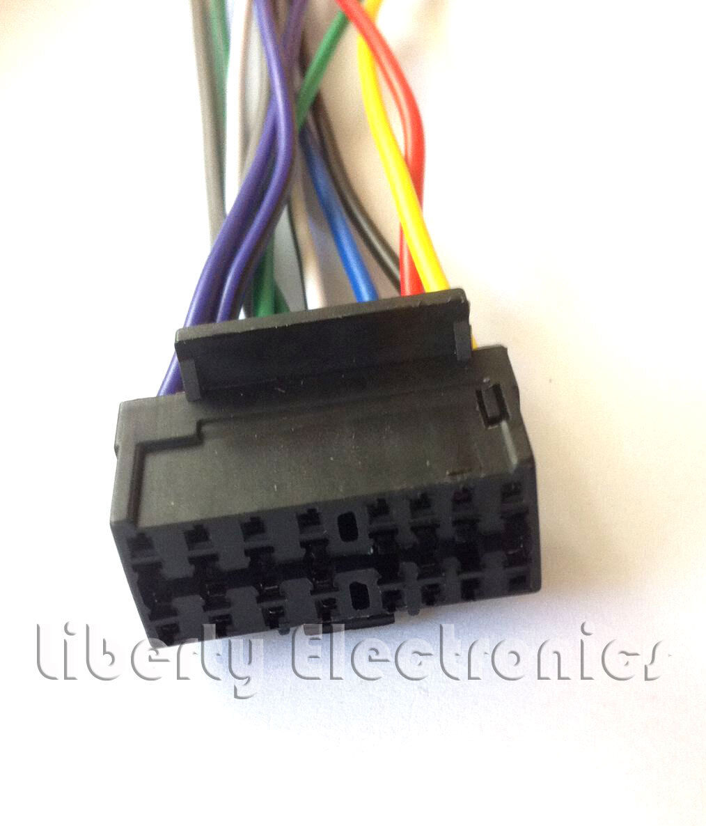 New Wire Harness For Pioneer Deh P3000 P3000r 1276 Picclick P5800mp 2 Of See More