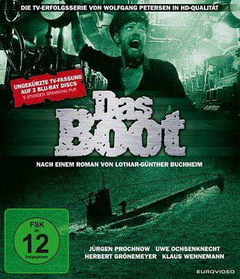 Das Boot - Die ungekürzte TV-Fassung # 2-BLU-RAY-NEU