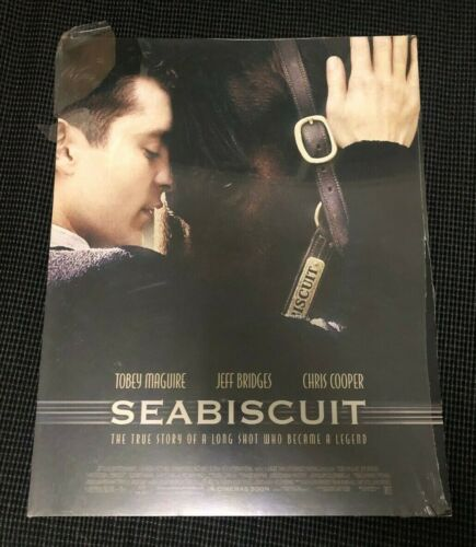 Seabiscuit movie original US Lobby Card 11x14 set 2003 sealed