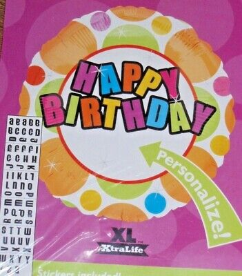 Happy Birthday Balloons With Names (18