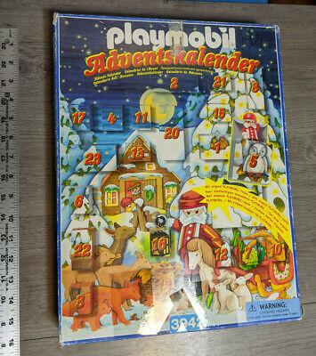 Playmobil 3942 Advent Calendar Adventskalender Christmas Decoration Toy Complete