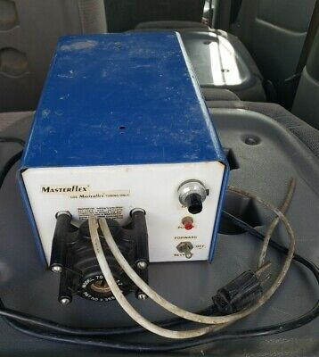 Cole Parmer Masterflex Peristaltic 7520-35 Pump Drive With Head Untested