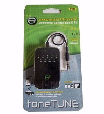 NEW Universal Wireless FM Transmitter e2 toneTUNE by Scosche for Phone, Mp3 iPod
