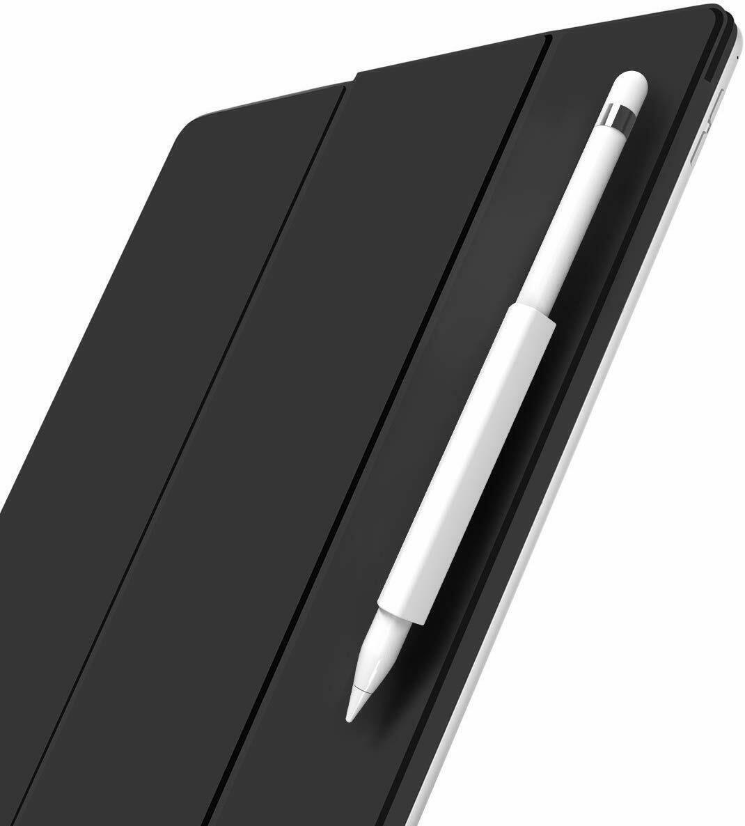 Magnetic Sleeve/Grip Holder for The Apple Pencil Grip in (White) Computers/Tablets & Networking
