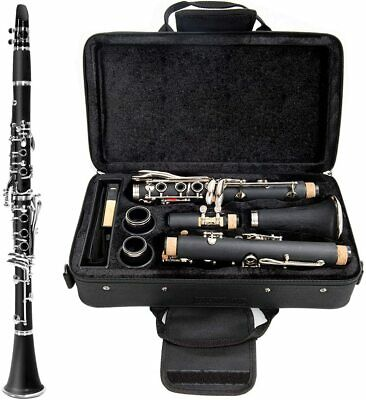 New Glarry Bb Professional Clarinet w/ Case Reeds & Accessories