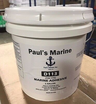 Non-Solvent, Water Based Marine Vinyl & Carpet Flooring Adhesive Glue D-113-001