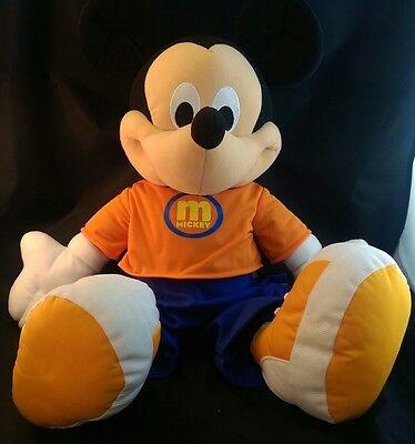 "2002 Disney Mickey Mouse Fisher Price 26"" Oversized Plush Stuffed Animal Plush"