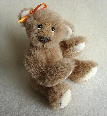 KS Schnitt Anleitung Teddy Puppe Kleidung nähen Schnittmuster Teddy Schürze