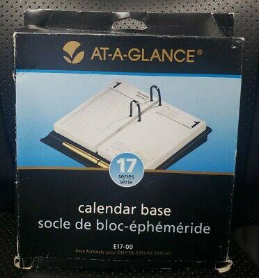 At A Glance E17-00 Calendar Base Black