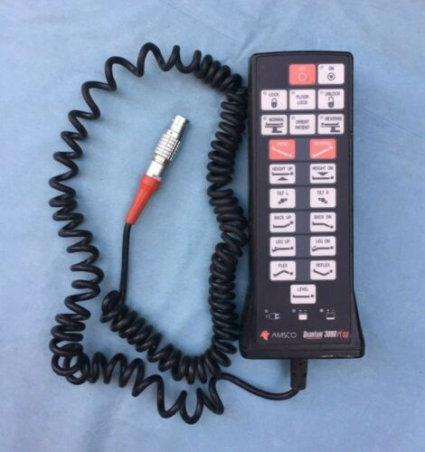 Amsco Steris Quantum 3080rl/sp Table Remote Hand Control, tested working