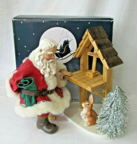 Trailside Prayer Woodland Santa Clothique Collection by Possible Dreams IOB 1998